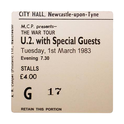 U.2. City Hall Ticket Coaster