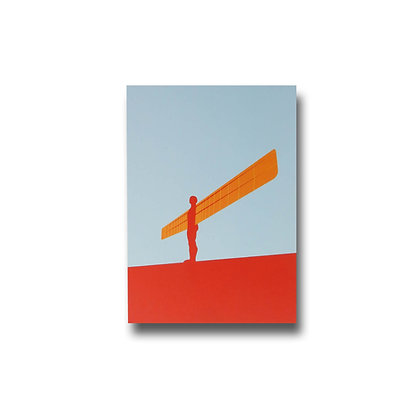 Angel of the North Premium Magnet