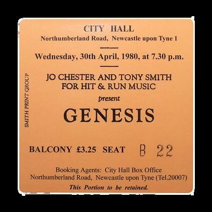 Genesis City Hall Ticket Coaster