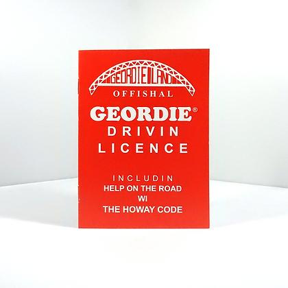 Geordie Drivin Licence