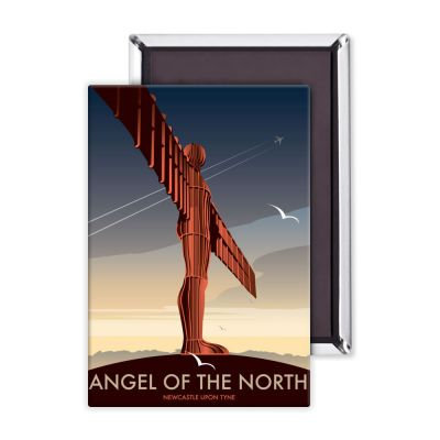 Dave Thompson Angel of the North Premium Magnet