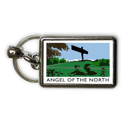Richard O'Neill Angel of the North Metal Keyring