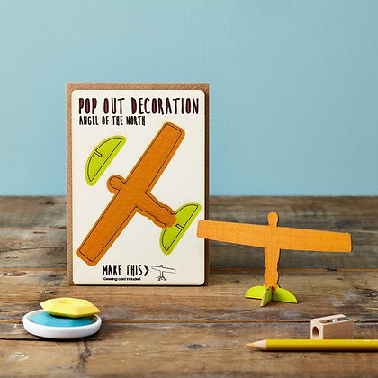 Pop Out 3D Angel of the North & Greeting Card