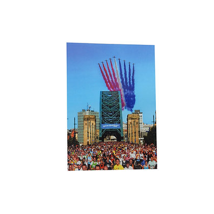 Great North Run Red Arrows Postcard