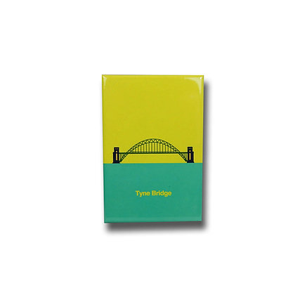Tyne Bridge Premium Magnet