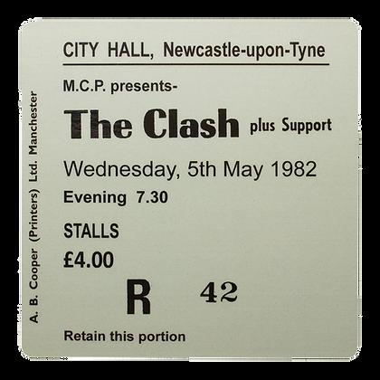 The Clash City Hall Ticket Coaster