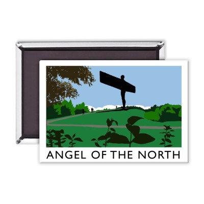 Angel of the North Premium Magnet (Richard O'Neill)