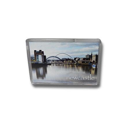 Millennium Bridge Baltic & Tyne Bridge Photo Magnet
