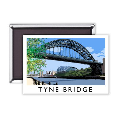 Richard O'Neill Tyne Bridge Premium Magnet