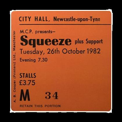 Squeeze City Hall Coaster