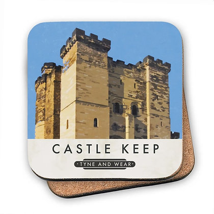 Newcastle Castle Keep Coaster