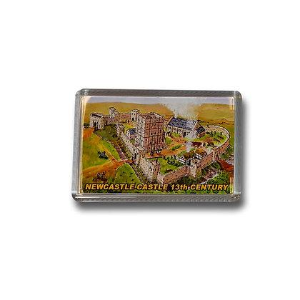 Newcastle Castle Photo Magnet