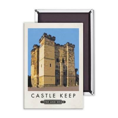 Castle Keep Premium Magnet