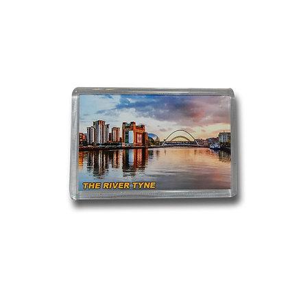 River Tyne Photo Magnet