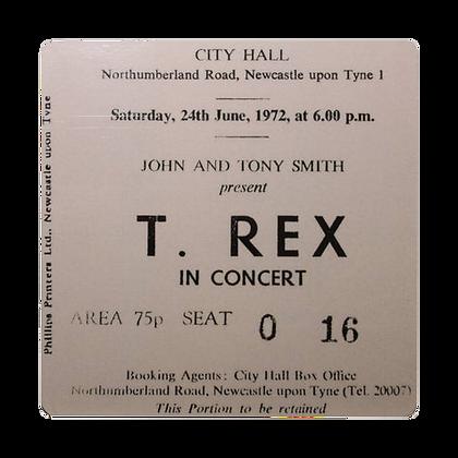 T Rex City Hall Ticket Coaster