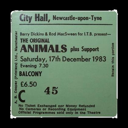 Animals City Hall Ticket Coaster