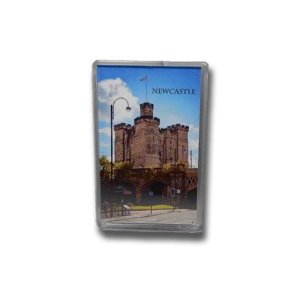 Newcastle Keep Photo Magnet