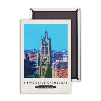 Newcastle Cathedral Premium Magnet