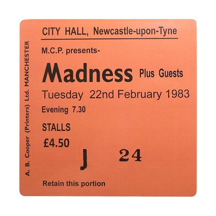 Madness City Hall Ticket Coaster