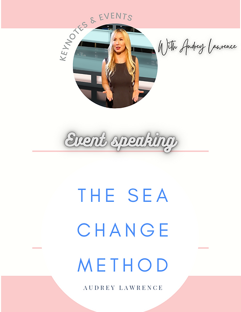 Audey Lawrence, Sea Change Speaking Podcast