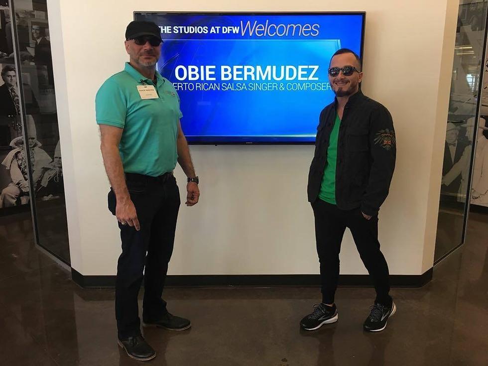 Obie Bermudez Media Tour Telemundo, Dall