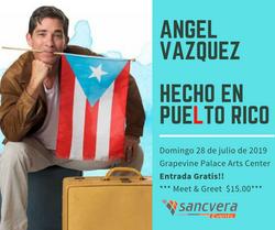 Angel Vázquez Hecho en Puelto Rico