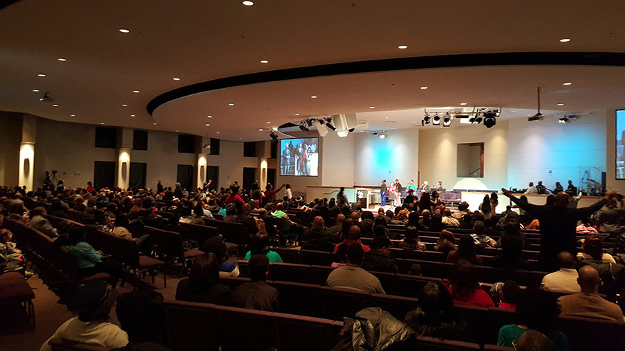 Concord Fortress of Hope Church in Kansas City, Missouri