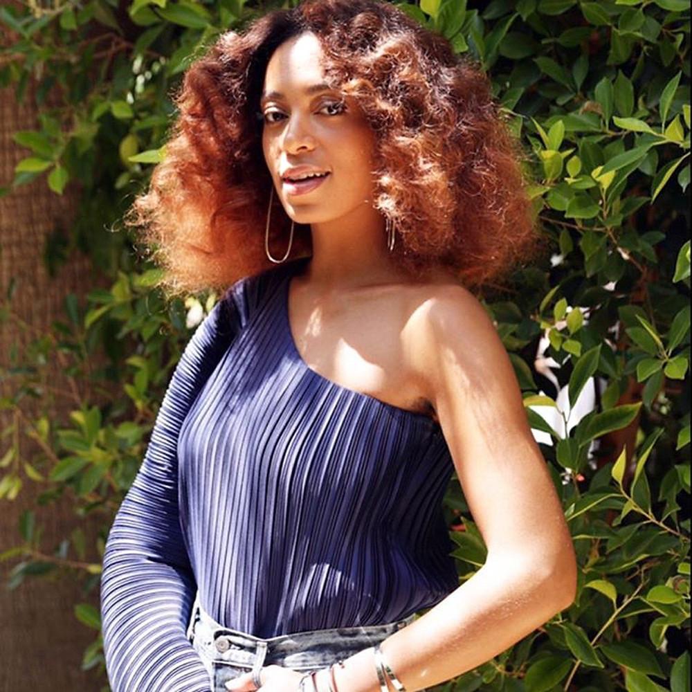 Solange, hair color trends, 2020, black women
