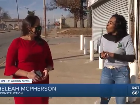 We were featured on 41 Action News!