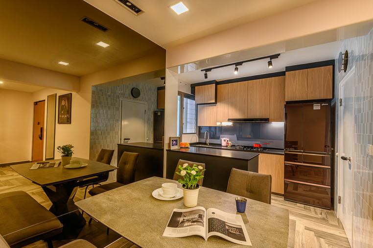 Bukit Batok West Ave 8 | Dining To Kitchen