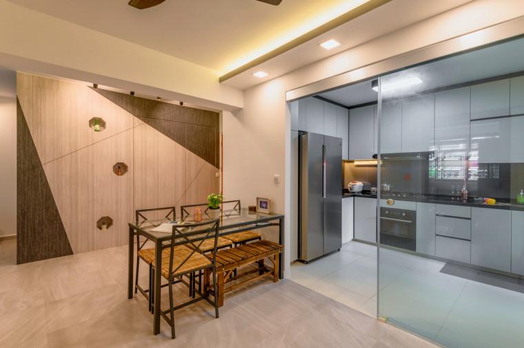 Bukit Batok West Ave 5 | Dining To Kitchen