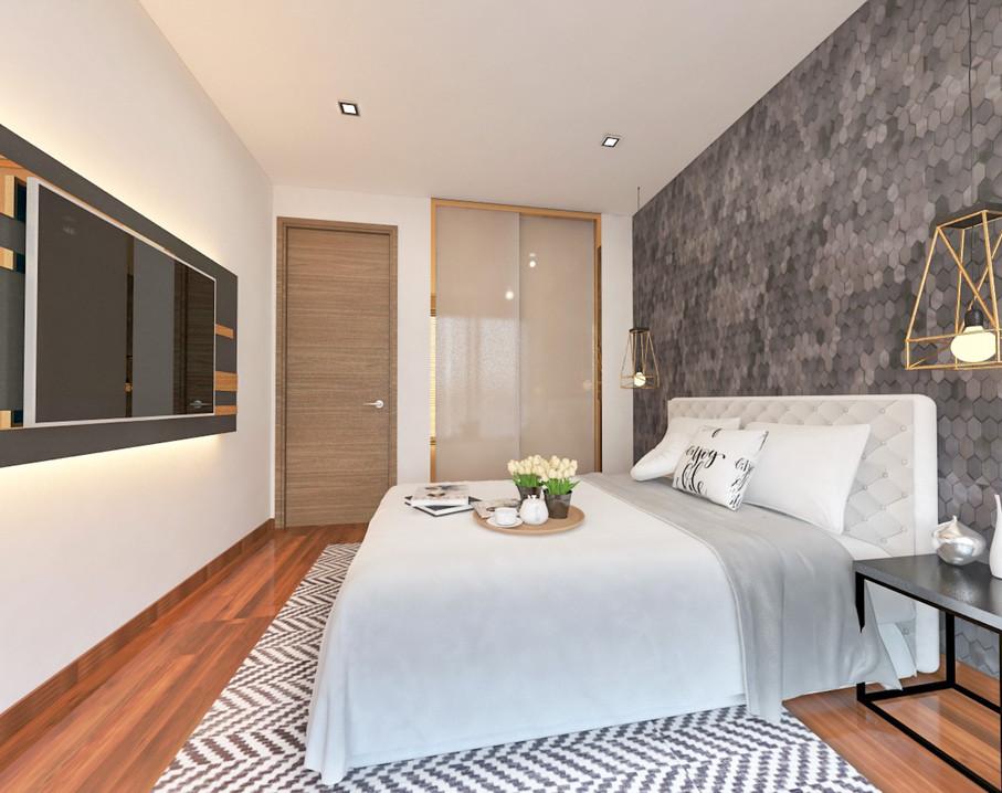 Flo Residence | Master Bedroom