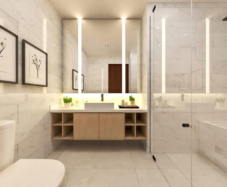 D'Nest | Master Bathroom