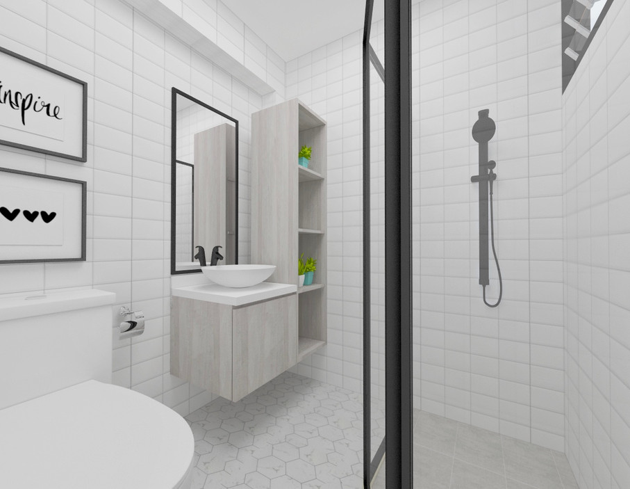 Serangoon North Ave 1 | Master Bath