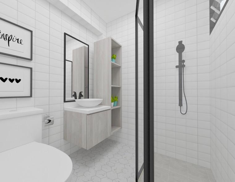 Serangoon North Ave 1 | Master Bath