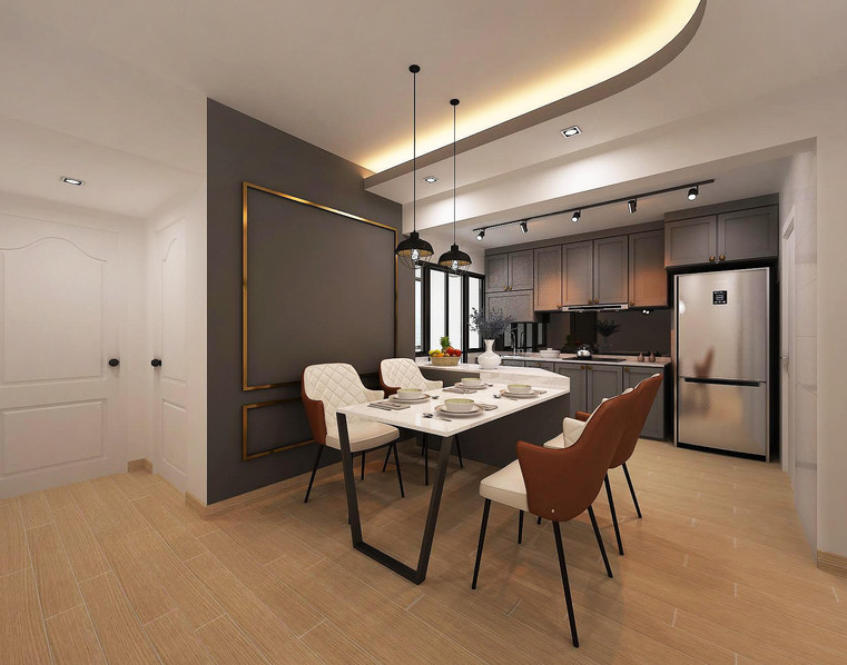 Tampines North Drive 1 | Dining To Kitchen