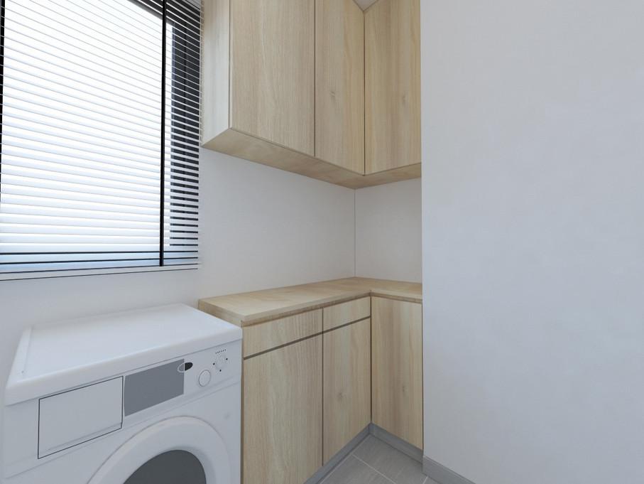 Blossom Residences | Laundry Room