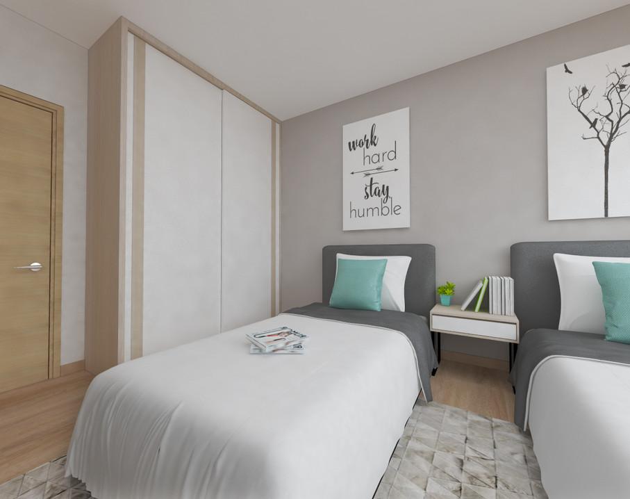 Bukit Merah View | Bedroom