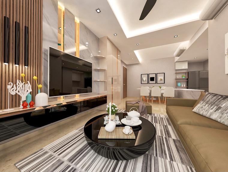 Flo Residence   Living