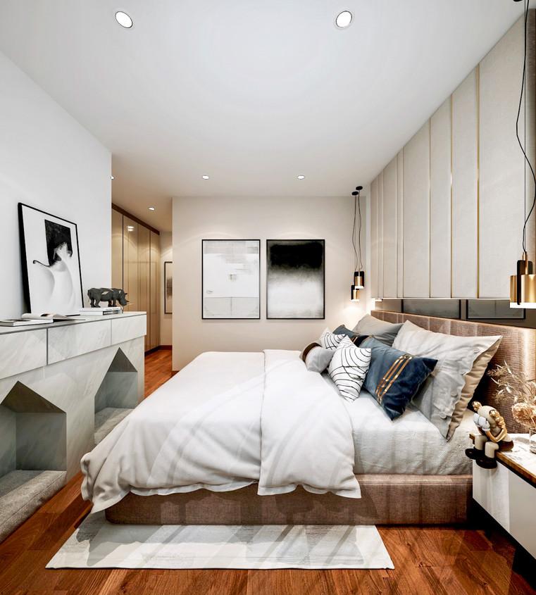 The Trilliant   Master Bedroom