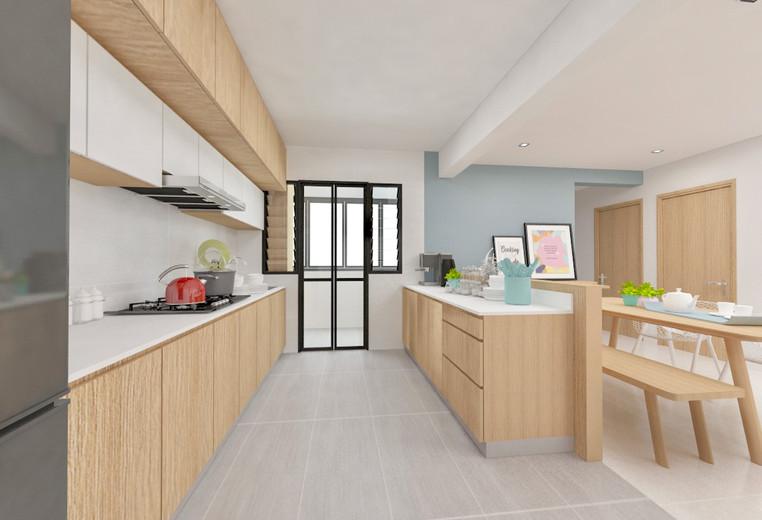 Bukit Batok Street 41 | Open-plan Kitchen
