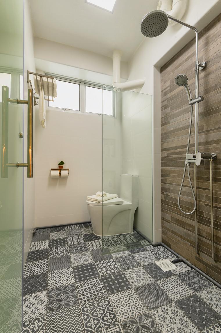 Bangkit Road | Master Bathroom