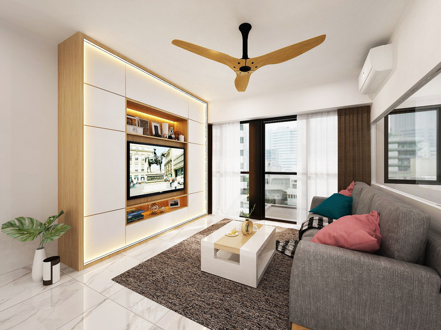 The Alps Residences | Living