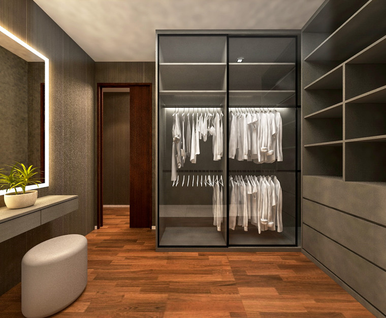 D'Nest | Walk-in wardrobe