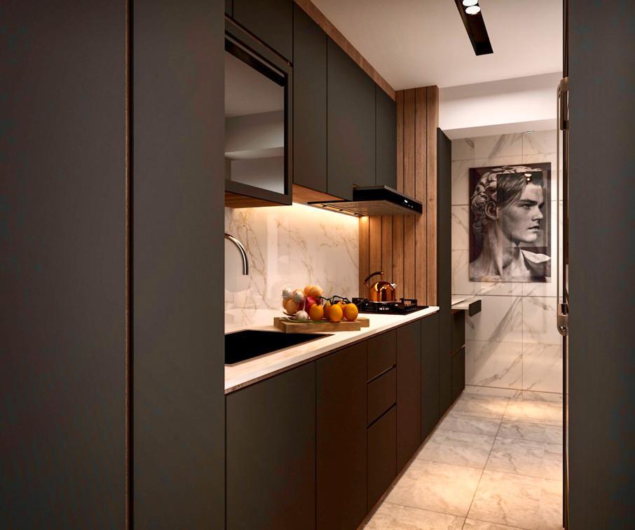 Cantonment Close   Kitchen