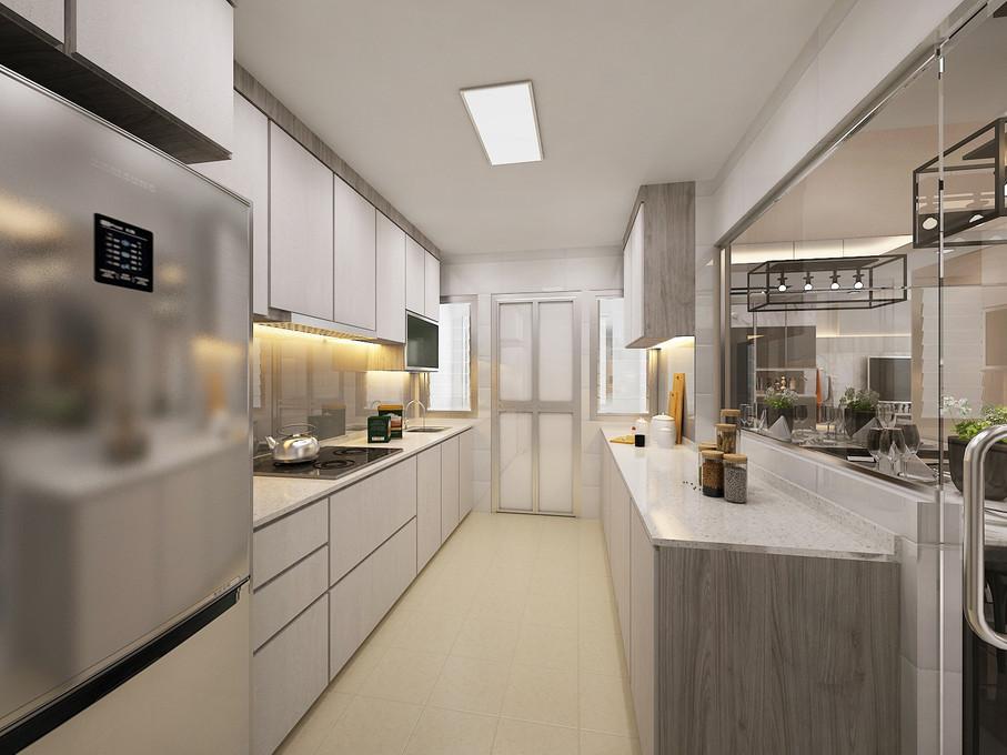 St. George's Lane | Galley kitchen