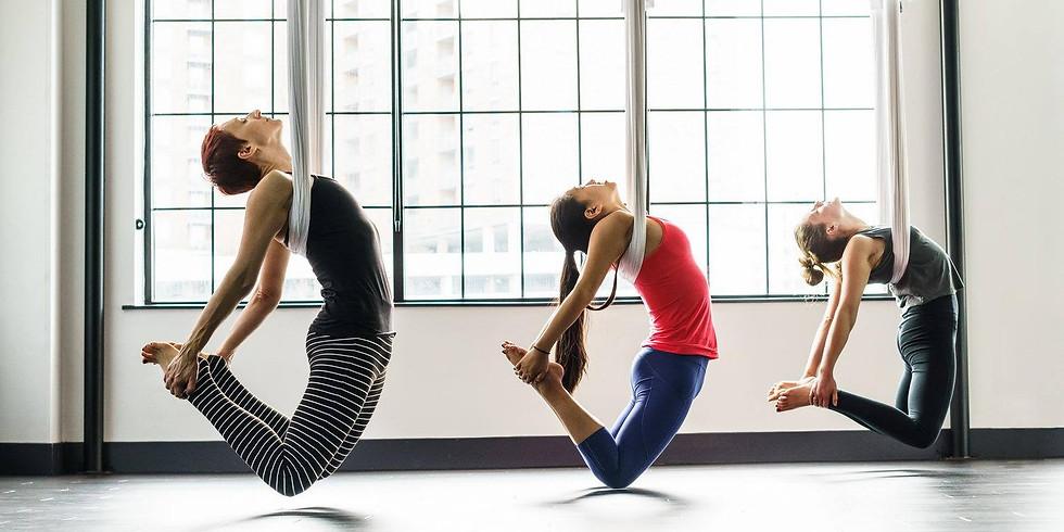 SOLD-OUT - Atelier Yoga aérien Acrobatique