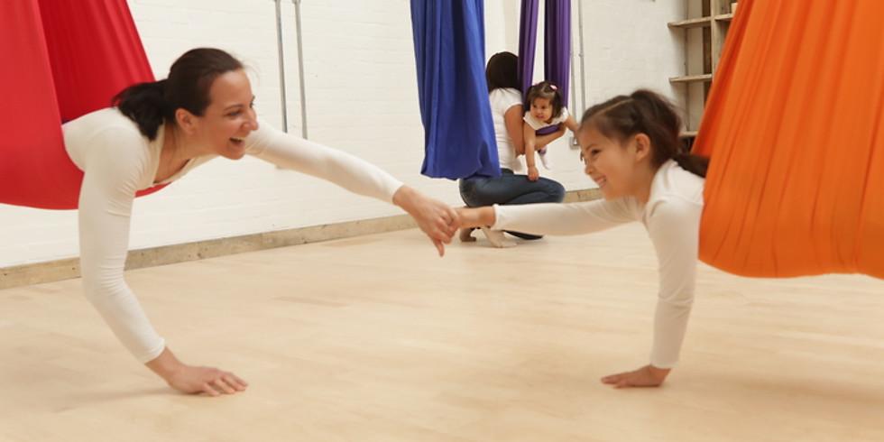 Yoga enfant-parent❤️