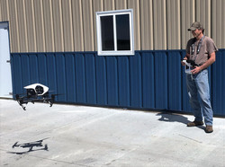 Flying the Drone