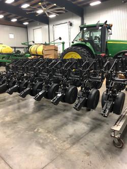 Row Units Put Together!